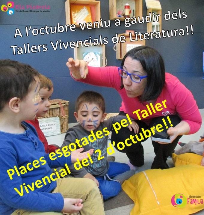 Tallers Vivencials Literatura